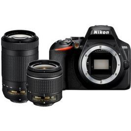 Nikon D3500 černý + 18-55mm VR + 70-300mm VR