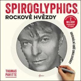 Spiroglyphics Rockové hvězdy: Originální obří omalovánky