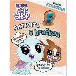 Littlest Pet Shop Aktivity s hračkou: Komiks zábavné úkoly, obsahuje figurku