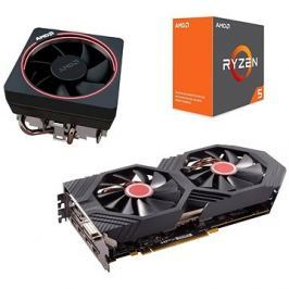 AMD akční balíček 3: VGA +  CPU + Chladič