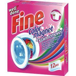 Well Done Fine ubrousky pohlcující barvu + odstraňovač skvrn 12 ks