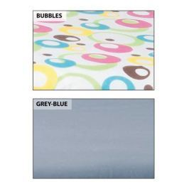 HomeLife Náhradní potah na žehlicí prkno Grey-Blue, bavlna, 106 x 35 cm