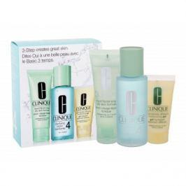 Clinique 3-Step Skin Care 4 dárková kazeta pro ženy čisticí voda Clarifying Lotion 4 100 ml + čisticí mýdlo Liquid Facial Soap 50 ml + hydratační emulze DDMgel 30 ml
