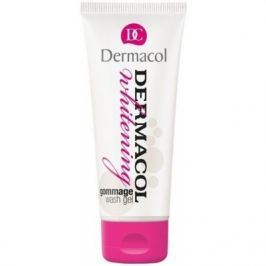 Dermacol Whitening Gommage Wash Gel 100 ml čisticí gel pro ženy