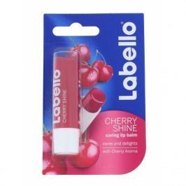 Labello Cherry Shine 5,5 ml balzám na rty pro ženy