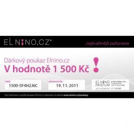 SLEVA Dárkový poukaz elektronický 1500 Kč dárkový poukaz