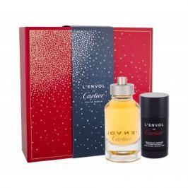 Cartier L´Envol de Cartier dárková kazeta pro muže parfémovaná voda 80 ml + deostick 75 ml