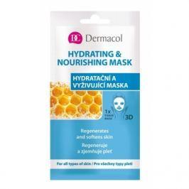 Dermacol Hydrating & Nourishing Mask 15 ml pleťová maska pro ženy
