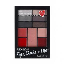 Revlon Eyes, Cheeks + Lips dárková kazeta pro ženy Complete Make-up Palette 200 Seductive Smokies