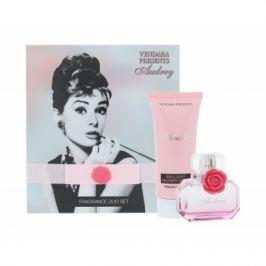 Vendara Presents Audrey dárková kazeta pro ženy parfémovaná voda 50 ml + sprchový krém 100 ml