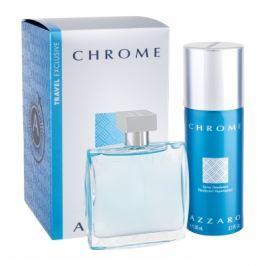 Azzaro Chrome dárková kazeta pro muže toaletní voda 100 ml + deodorant 150 ml