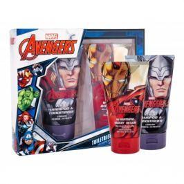 Marvel Avengers dárková kazeta šampon & sprchový gel 2v1 150 ml + sprchový gel 150 ml