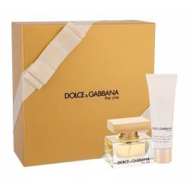 Dolce&Gabbana The One dárková kazeta pro ženy parfémovaná voda 30 ml + tělové mléko 50 ml