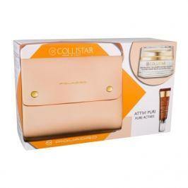 Collistar Pure Actives Collagen Cream Balm dárková kazeta proti vráskám pro ženy denní pleťová péče 50 ml + péče o oční okolí 7,5 ml + kabelka