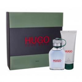 HUGO BOSS Hugo Man dárková kazeta pro muže toaletní voda 75 ml + sprchový gel 100 ml