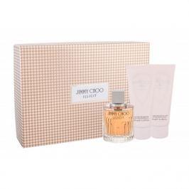 Jimmy Choo Illicit dárková kazeta pro ženy parfémovaná voda 100 ml + tělové mléko 100 ml + sprchový gel 100 ml