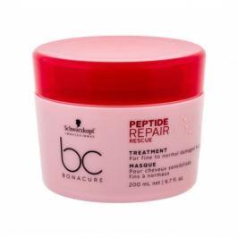 Schwarzkopf BC Bonacure Peptide Repair Rescue 200 ml maska na vlasy pro ženy