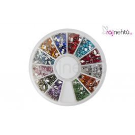 Barevné kamínky v karuselu - mix barev a tvarů