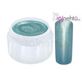 Ráj nehtů Barevný UV gel METALLIC - Turquioise 5ml