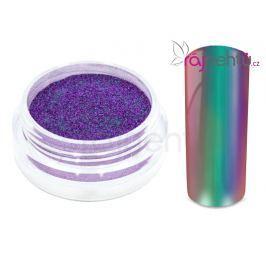 Ráj nehtů Chromový pigment Flip Flop - green/purple 0,5g